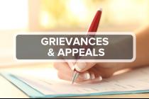 13. Grievances & Appeals