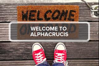 1. Welcome to Alphacrucis