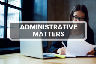5. Administration Matters